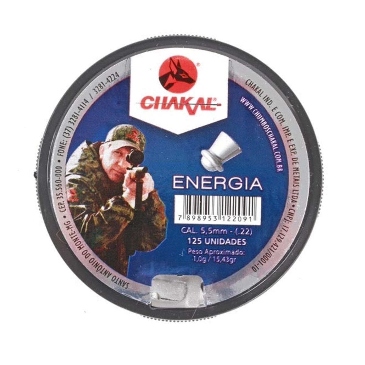 CHUMBINHO CHAKAL ENERGIA 5.5MM