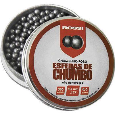 ESFERAS DE CHUMBO ROSSI 4,5MM
