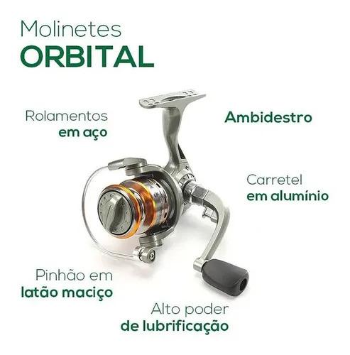 MOLINETE DE PESCA ORBITAL 6.000 PESCA BRASIL