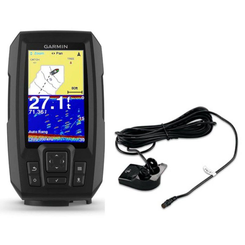 SONAR GARMIN COM GPS STRIKER 4 PLUS COM TRANSDUCER