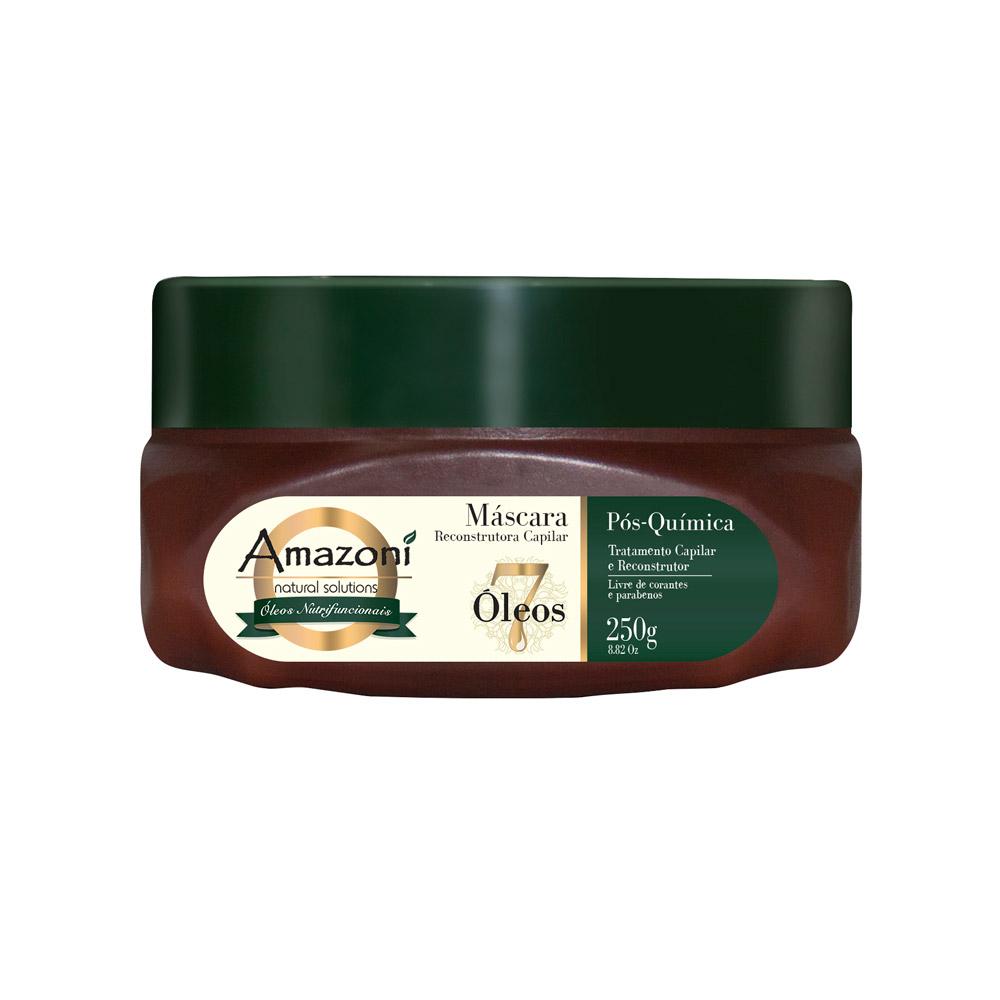 MÁSCARA AMAZONÍ 7 ÓLEOS NUTRIFUNCIONAIS 250g
