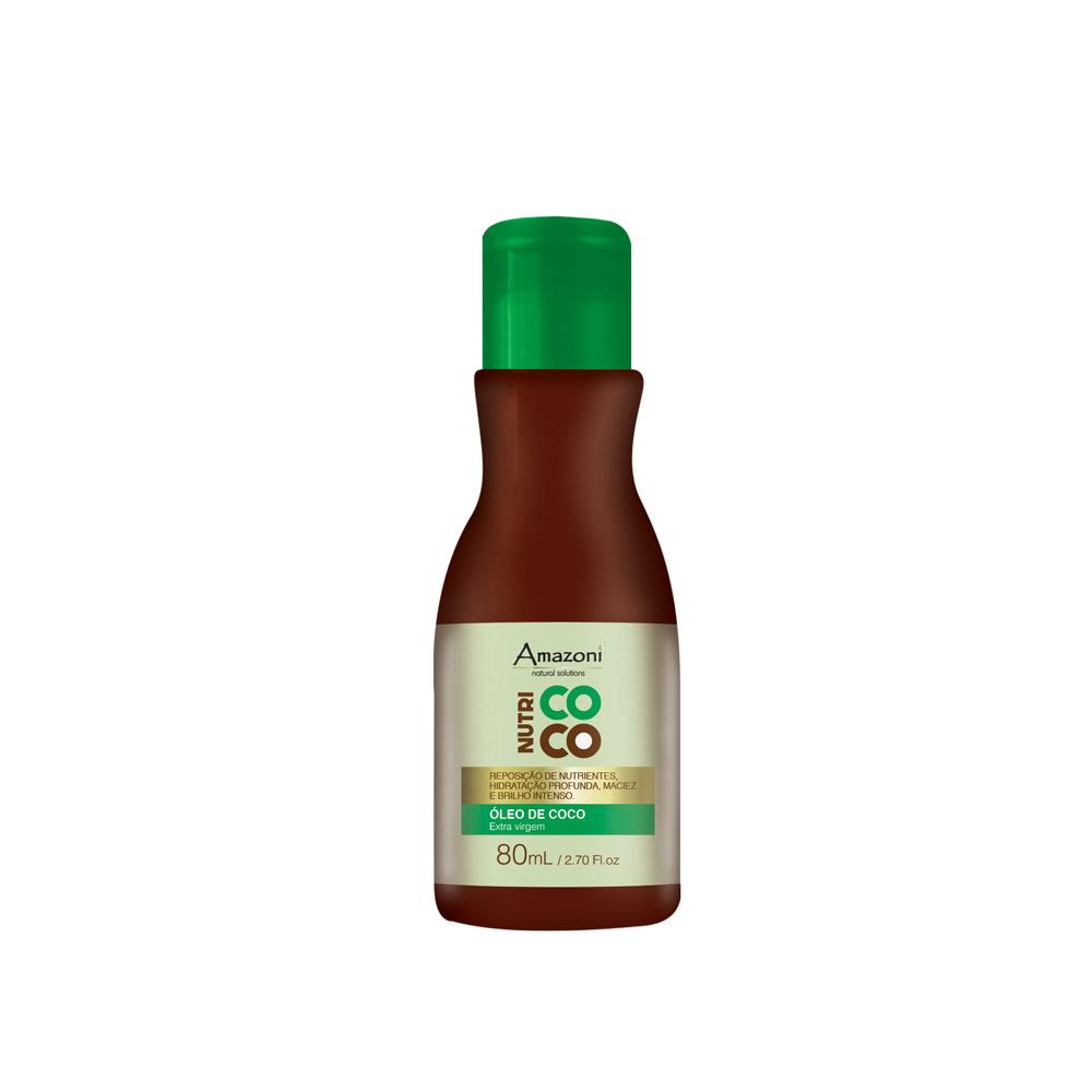 ÓLEO DE COCO AMAZONÍ NUTRI COCO 80ml