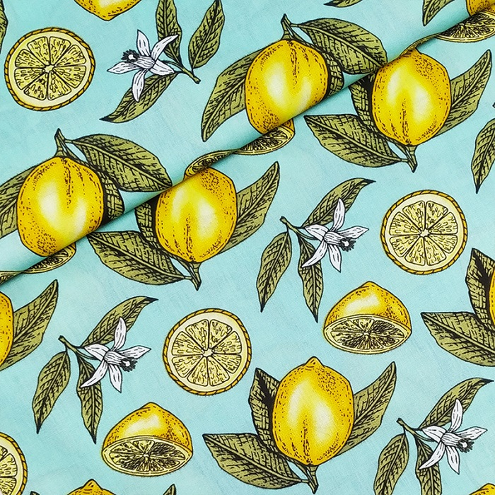 Tecido Patchwork Rimatex Limão Verde Claro 0,50X1,50mts
