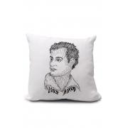 Almofadinha Rostos Letrados: Lord Byron