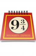 Bloco de notas Expresso de Hogwarts