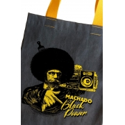 Bolsa Jeans Machado Black Power