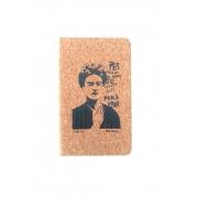 Caderneta de cortiça Frida Kahlo