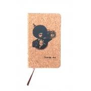Caderneta de cortiça Machado Black Power