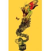 Camiseta Amarela Caixa de Pandora