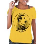 Camiseta Amarela Eça de Queiroz