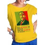 Camiseta Amarela Martin Luther King