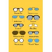 Camiseta Amarela Óculos (Di)Versos
