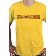 Camiseta Amarela Poeme-se Wood