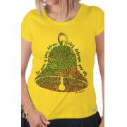 Camiseta Amarela Por quem os sinos dobram