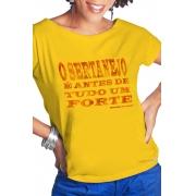 Camiseta Amarela Sertanejo é um forte