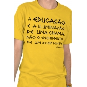 Camiseta Amarela Sócrates