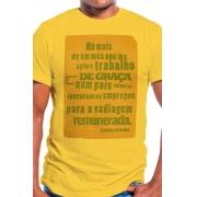 Camiseta Amarela Vadiagem Remunerada