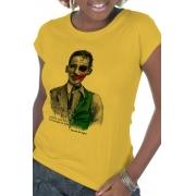 Camiseta Amarela Versos Íntimos