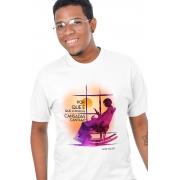 Camiseta Branca A Cor Purpura