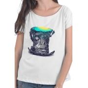 Camiseta Branca Alice no País das Maravilhas
