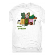 Camiseta Branca Amazonas Literário