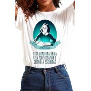 Camiseta Branca Anne Frank