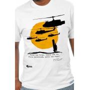 Camiseta Branca Apocalypse Now - T. S. Eliot