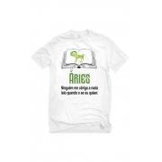 Camiseta Branca Arianos leitores