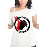 Camiseta Branca Artista Antifascista