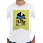 Camiseta Branca Bienal de Pernambuco