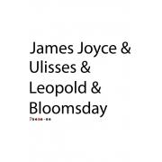 Camiseta Branca Bloomsday
