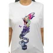 Camiseta Branca Caixa de Pandora