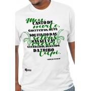 Camiseta Branca Canto Guerreiro