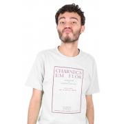 Camiseta Branca Capa de livro Florbela Espanca