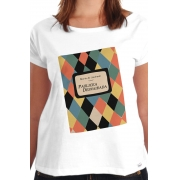 Camiseta Branca Capa do Livro Paulicea Desvairada