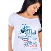 Camiseta Branca Casquinha