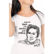 Camiseta Branca Christie, Mãe do Mistério