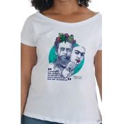 Camiseta Branca Citação