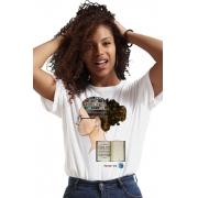 Camiseta Branca Conhecimento Universal