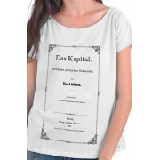 Camiseta Branca Das Kapital