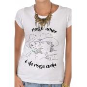 Camiseta Branca É da nossa conta