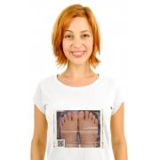 Camiseta Branca Eça I love you