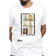 Camiseta Branca Encantamento de Portinari