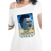 Camiseta Branca Ernest Hemingway