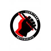 Camiseta Branca Escritora Antifascista