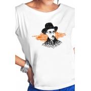 Camiseta Branca Fernando Pessoa