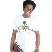 Camiseta Branca Gonçalves Dias