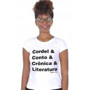 Camiseta Branca Helvética Poética