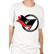 Camiseta Branca Historiador Antifascista