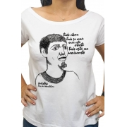 Camiseta Branca Imhotep, pai da arquitetura